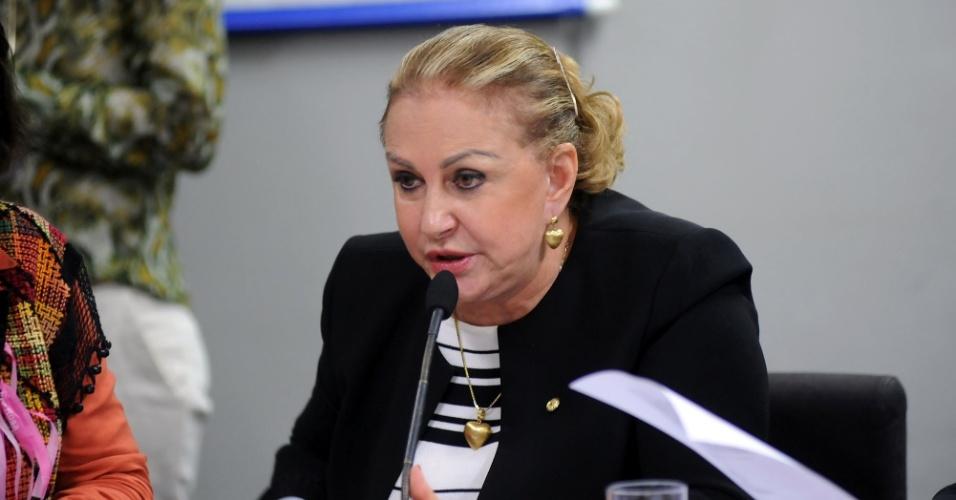 14.out.2014 - Elcione Barbalho, 70, do PMDB, foi reeleita deputada federal pelo Pará com a maior votação entre suas concorrentes. Ela foi casada com o ex-governador Jader Barbalho e foi primeira-dama do Estado por duas vezes. Desde 2011, é procuradora da Mulher da Câmara dos Deputados