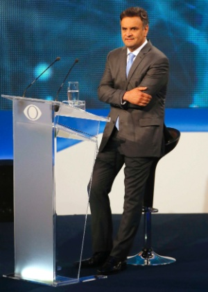 Candidato do PSDB à Presidência, Aécio Neves