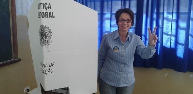 14.out.2014 - Tereza Cristina, do PSB, foi eleita deputada federal pelo Mato Grosso do Sul