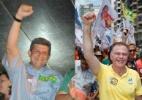 Mesmo bem avaliados, 3 governadores tentam reeleição e perdem no 1º turno - Arte/UOL