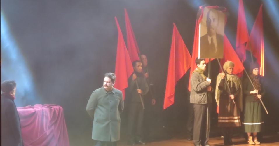 História Viva, aula-espetáculo para vestibulandos