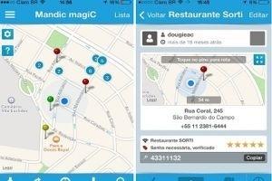 App Mandic magiC busca redes Wi-Fi