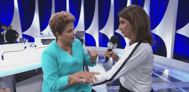 Dilma  - Reprodução/SBT - Reprodução/SBT