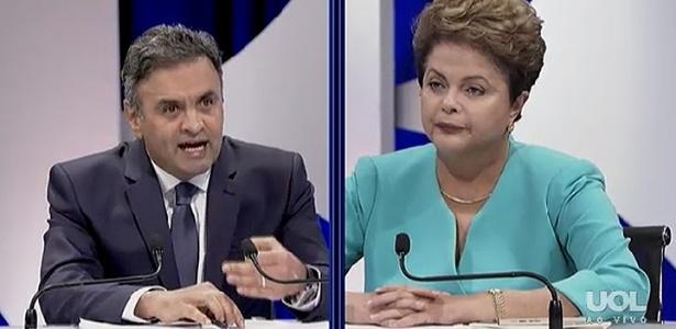 Debate tem clima de 'chumbo grosso' - Reprodução/TV UOL