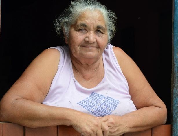 A aposentada Cícera dos Santos, 64, tem medo de diminuir os benefícios do governo. A filha dela recebe o Bolsa Família em São José da Tapera, em Alagoas