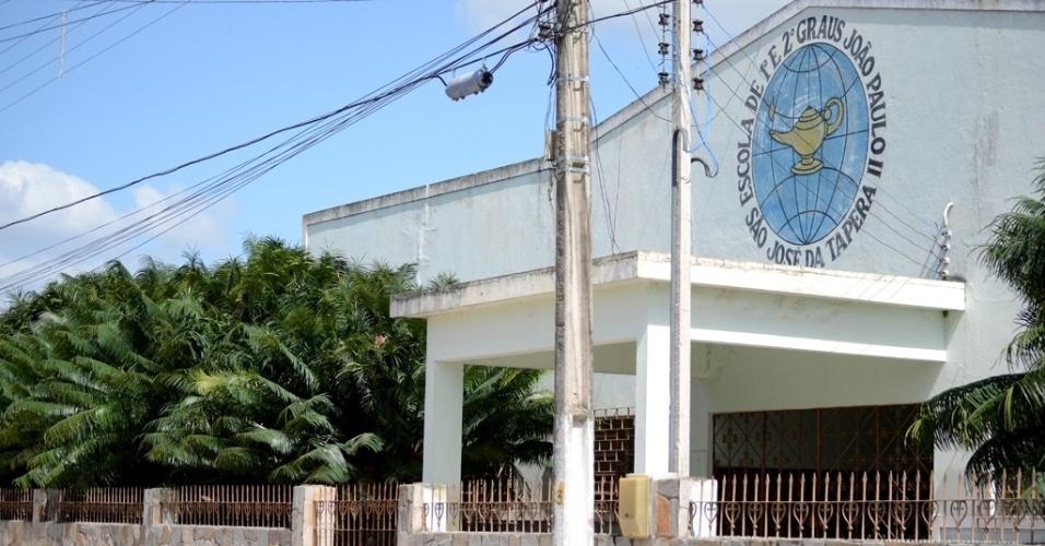 A escola João Paulo 2º foi o palco onde ocorreu o lançamento do programa Bolsa Alimentação, em 2001, em São José da Tapera (AL), com a presença do então presidente Fernando Henrique Cardoso (PSDB)