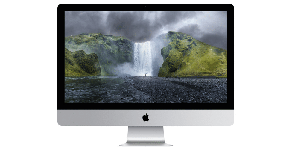 Apple apresentou também o iMac com display de Retina. O novo Mac vem com processador Intel Core i5 de 3.5GHz ou i7 de 4GHz, dependendo da versão. A placa de vídeo é uma Radeon R9 M290X, que pode ser melhorada. O preço inicial é US$ 2.499 e a tela possui 27 polegadas e 5120 x 2880 de resolução
