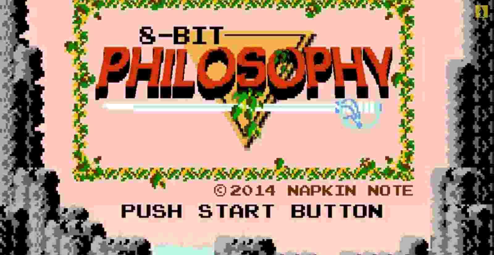 """As animações da série 8-Bit Philosophy, disponíveis no YouTube, usam games clássicos para ensinar filosofia. O primeiro episódio usa gráficos de """"The Legend of Zelda"""" para explicar a alegoria da caverna, de Platão - Reprodução/YouTube"""