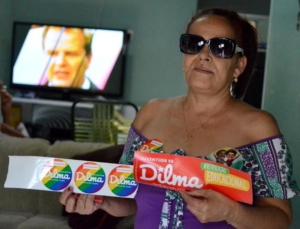"""Salete Barros, 48, moradora de São José da Tapera, em Alagoas, diz que """"eles davam R$ 15 e achavam que dava para o nordestino viver"""""""