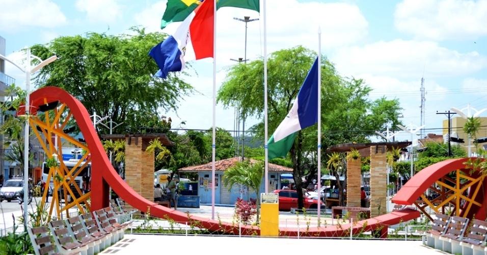 Todas as praças de São José da Tapera (AL) têm internet sem fio para o livre acesso dos moradores