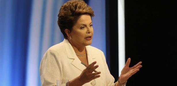 A presidente reeleita, Dilma Rousseff (PT)