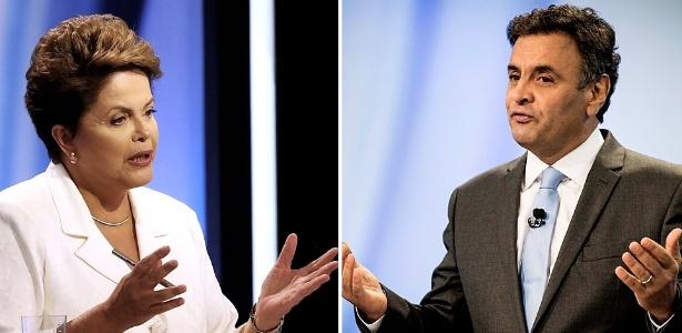 Análise: Debate foi ameno, mas pancadas continuam na web - Nacho Doce/Reuters/Eduardo Knapp/Folhapress/Arte UOL