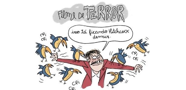 Disputa presidencial vira filme de terror - chiquisland.com/UOL