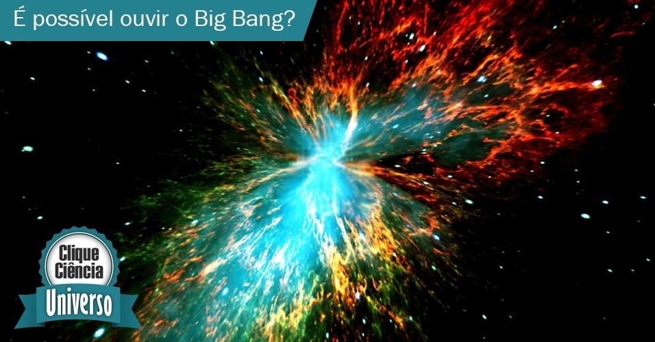 Clique Ciência: é possível ouvir o Big Bang?