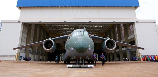 Embraer apresentou neste ano o novo jato comercial E195-E2 - Divulgação/Embraer