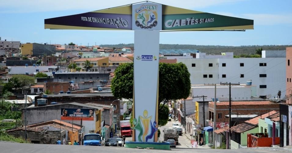 21.out.2014 - No primeiro turno, eleitores de Caetés (PE), terra natal do ex-presidente Lula, deram 84% dos votos válidos para Dilma Rousseff (PT)