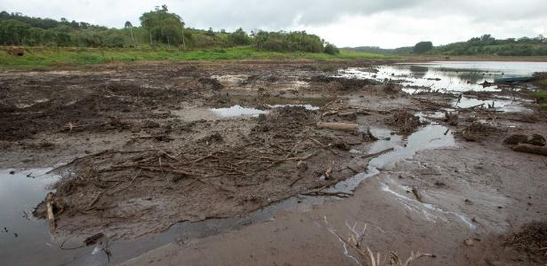 A represa Biritiba-Mirim, que faz parte do sistema Alto Tietê - Daniel Teixeira/Estadão Conteúdo