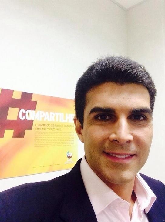 22.out.2014 - O candidato ao governo do Pará pelo PMDB, Helder Barbalho, postou uma