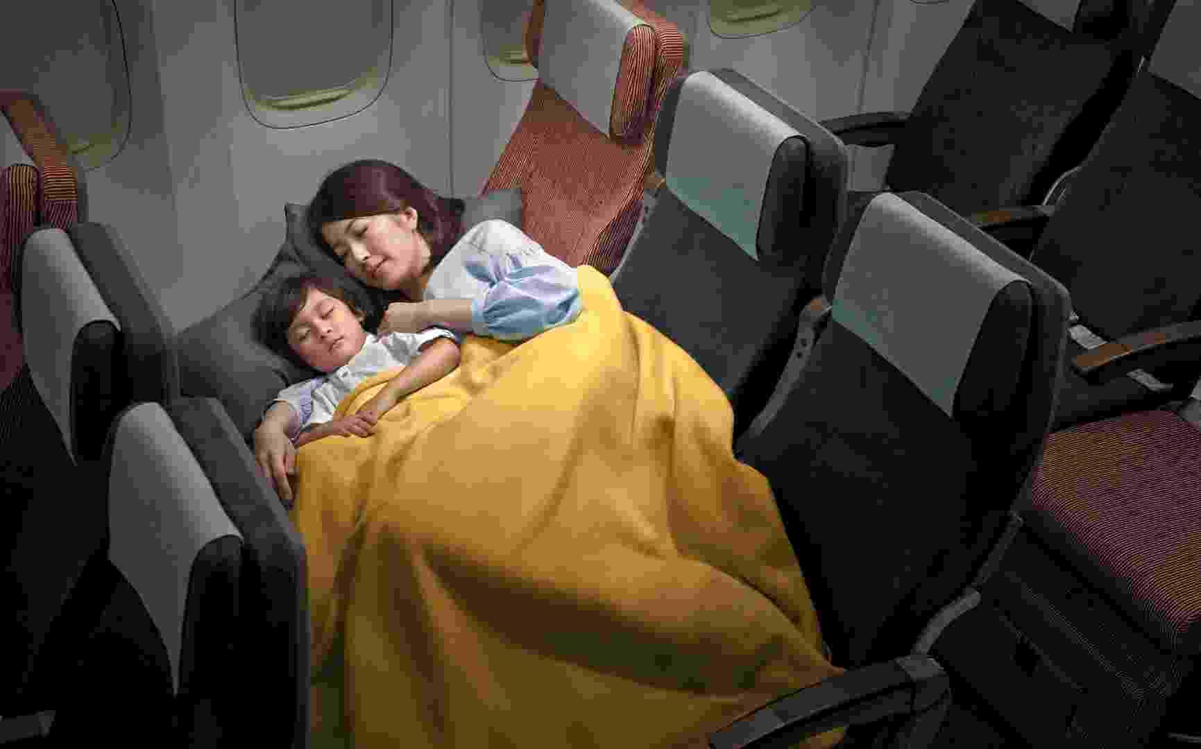 A China Airlines, companhia aérea do Taiwan, recebeu seu primeiro avião Boeing 777-300ER - Divulgação/China Airlines