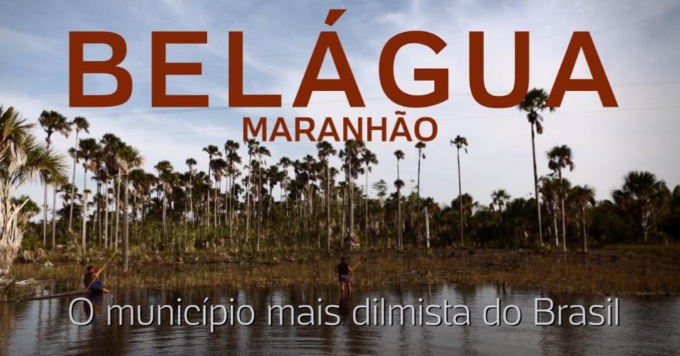 Still do vídeo sobre Belágua (MA), a cidade mais dilmista do Brasil