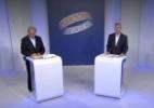 Frejat (PR) e Rollemberg (PSB) participam de debate promovido pela Rede Globo - Reprodução/TV Globo