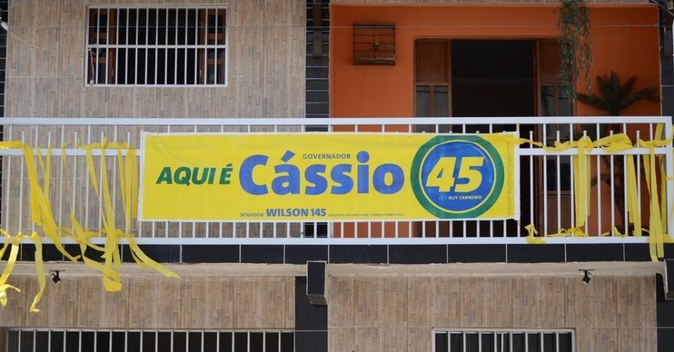 24.out.2014 - Apoio aos candidatos tucanos predomina em Campina Grande (PB), destoando da tendência majoritária na região Nordeste