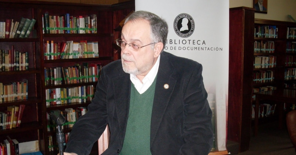 O escritor e jornalista argentino Mempo Giardinelli apoia a candidata à reeleição, Dilma Rousseff (PT)