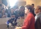 Dilma concede entrevista coletiva em Porto Alegre - Reprodução/Twitter