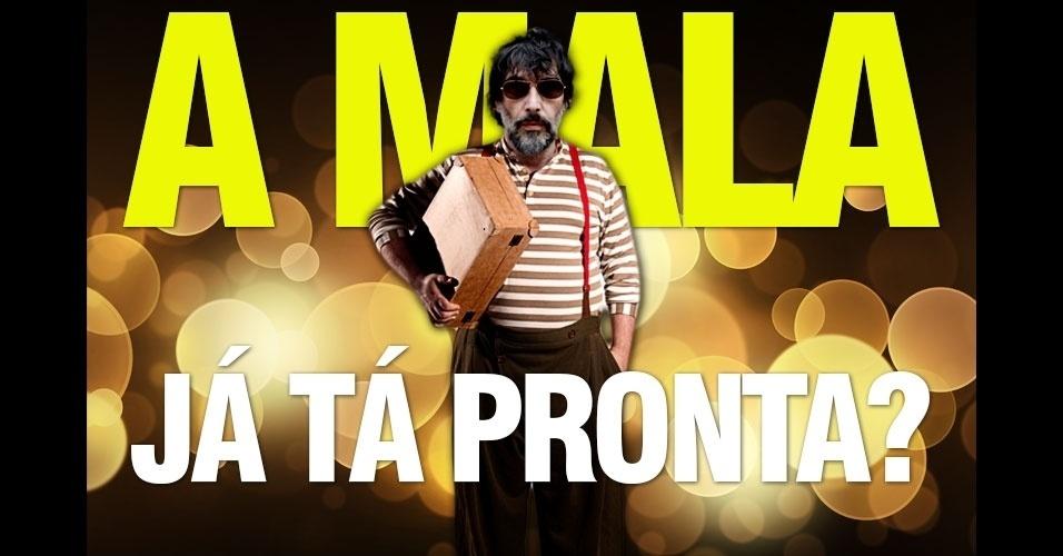 26.out.2014 - Internauta faz piada com o cantor Lobão que declarou que iria sair do Brasil, caso a presidente Dilma Rousseff (PT) fosse reeleita