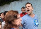 Eleitor de Aécio Neves discute com militantes petistas em SP - Levi Bianco/ Brazil PhotoPress/ Estadão Conteúdo