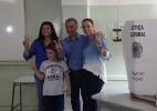 Candidato ao governo de MS pelo PSDB, Reinaldo Azambuja vota neste domingo - Reprodução/Facebook