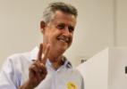 Rodrigo Rollemberg (PSB) vota em escola na Asa Sul, em Brasília - Sergio Lima/Folhapress