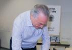 Vice-presidente Michel Temer (PMDB) vota na PUC, em SP - Kevin David/ Brazil PhotoPress/ Estadão Conteúdo