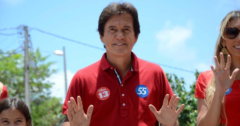 26.out.2014 - Robinson Faria (PSD) é o governador eleito do Rio Grande do Norte. Ele disputou o segundo turno das eleições com Henrique Eduardo Alves (PMDB)