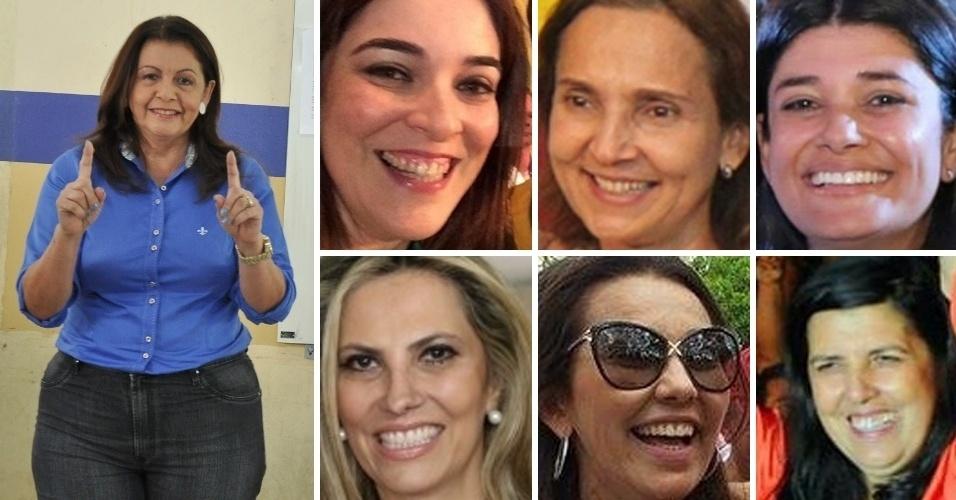 Ainda presentes em menor número entre os políticos eleitos, as mulheres chegaram nestas eleições a cargos no executivo e legislativo: foram eleitas uma governadora, sete vices-governadoras e cinco senadoras, além de de deputadas federais e estaduais.
