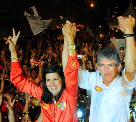 Lígia Feliciano, 57, do PSB, foi eleita vice-governadora da Paraíba na chapa de Ricardo Coutinho (PSB). Natural de Campina Grande, ela é casada com o deputado federal Damião Feliciano  (PDT)