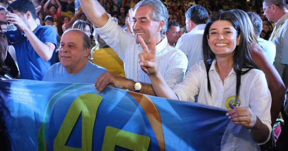 Professora Rose, 36, do PSDB, foi eleita vice-governadora do Mato Grosso do Sul na chapa de Reinaldo Azambuja (PSDB). Rosiane Modesto é natural de Campo Grande, onde atuava como vereadora