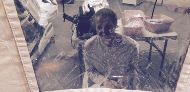 A enfermeira Kaci Hickox, que se encontrava em quarentena obrigatória em Newark, Nova Jersey, nos Estados Unidos, por possível contágio de ebola, recebeu alta na segunda (27)  - Steve Hyman/ Heuters