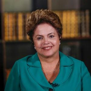 Reeleita presidente nas eleições deste domingo (26), Dilma Rousseff (PT) concede entrevista ao Jornal Nacional