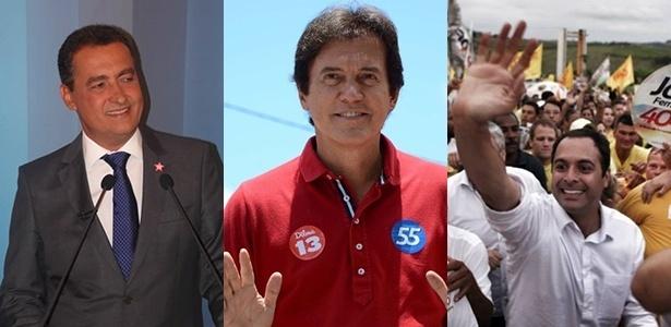 'Estreantes' como governadores, Rui Costa (PT-BA), Robinson Faria (PSD-RN) e Paulo Câmara (PSB-PE) foram eleitos neste ano