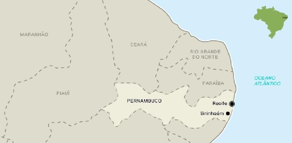 """Em Sirinhaém (PE), a cidade mais """"marineira"""" do Brasil no primeiro turno, Dilma venceu com 61% dos votos, saindo de 22% no primeiro turno. Aécio teve 39% dos votos"""
