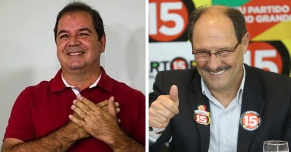 No segundo turno, o Acre foi o Estado com a disputa mais apertada: Tião Viana (PT) venceu Márcio Bittar (PSDB) por apenas 2,5 pontos percentuais. O Estado em que o vencedor levou maior vantagem sobre o oponente no segundo turno foi o Rio Grande do Sul: Sartori (PMDB) venceu Tarso Genro (PT) por 22,4 pontos percentuais
