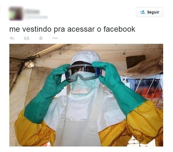 28.out.2014 - Internauta faz referência as brigas que dominaram o Facebook durante o período eleitoral