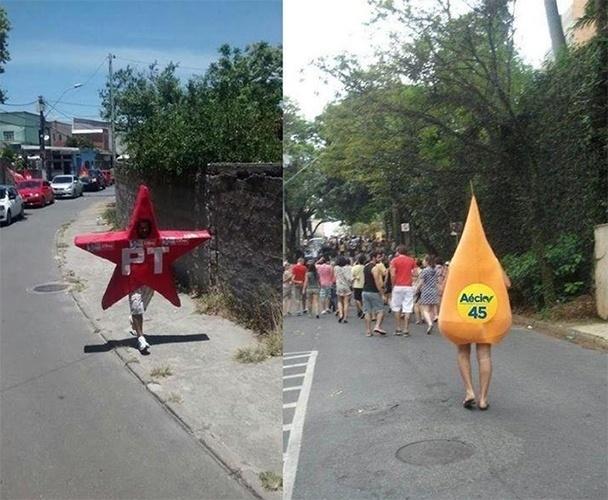 28.out.2014 - Internauta pede a inclusão da imagem acima no Google Street View