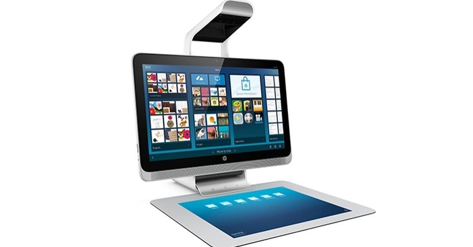 29.out.2014 - A HP uniu um scanner 3D e um projetor a um PC multiuso para criar um aparelho de US$ 1,9 mil (aproximadamente R$ 4,6 mil). O novo computador desktop, chamado Sprout, já começou a ser vendido