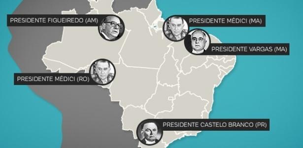 Clique na imagem para ver a votação de Dilma e Aécio por município