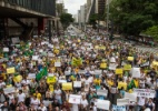 Atos contra Dilma e Alckmin fecham avenidas das zonas sul e oeste de SP - Dario Oliveira/Código 19/Estadão Conteúdo