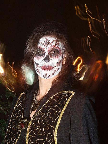 La Catrina, a tradicional caveira mexicana - Carlo Allegri/Reuters