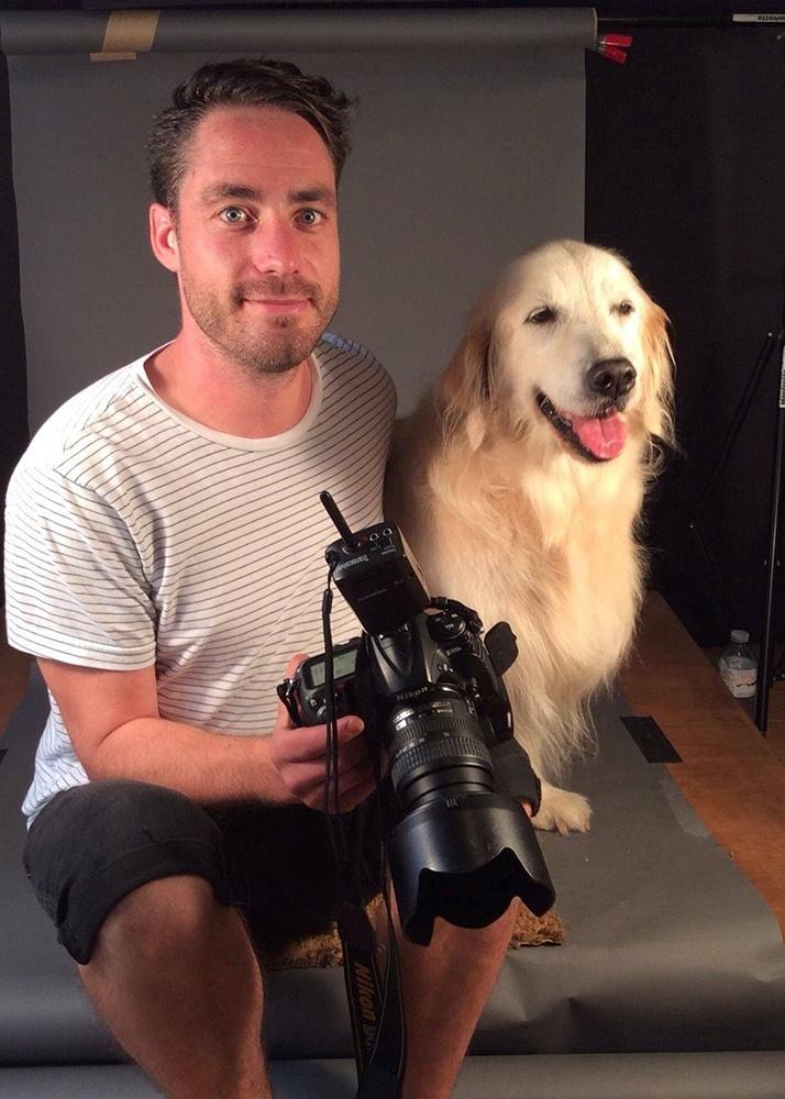 """4.nov.2014 - O fotógrafo canadense Pete Thorne vive em Toronto, onde mantém seu estúdio e toca projetos especiais, como este """"Velho e Fiel"""", com retratos de cães muitos velhos. As fotos devem ser reunidas em uma exposição ou um livro"""