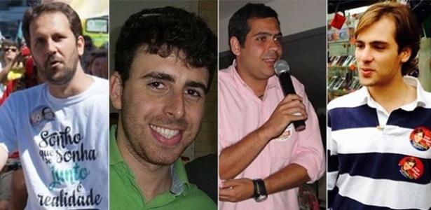Flávio Serafini (PSOL), Renato Cozzolino (PR), Bruno Dauaire (PR) e Jorge Felippe Neto (PSD) estão entre os deputados que vão estrear na Alerj em janeiro do ano que vem - Arte UOL